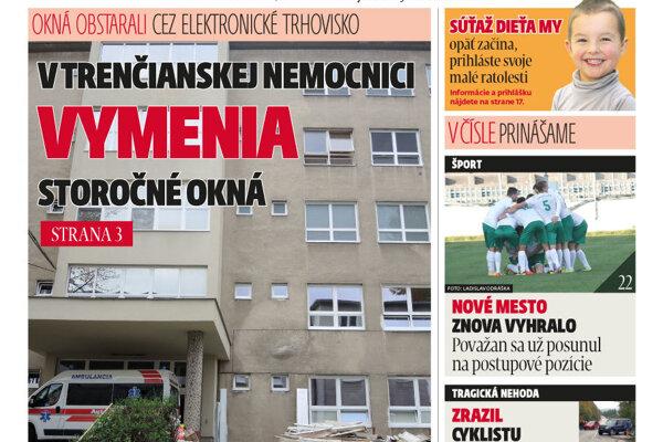 Vyšlo nové číslo MY Trenčianskych novín.