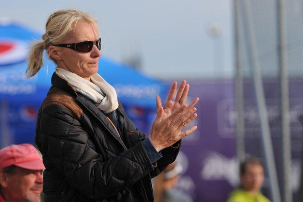 Krejčíkovej dobrému výkonu musela zatlieskať aj bývalá skvelá česká tenistka Jana Novotná.