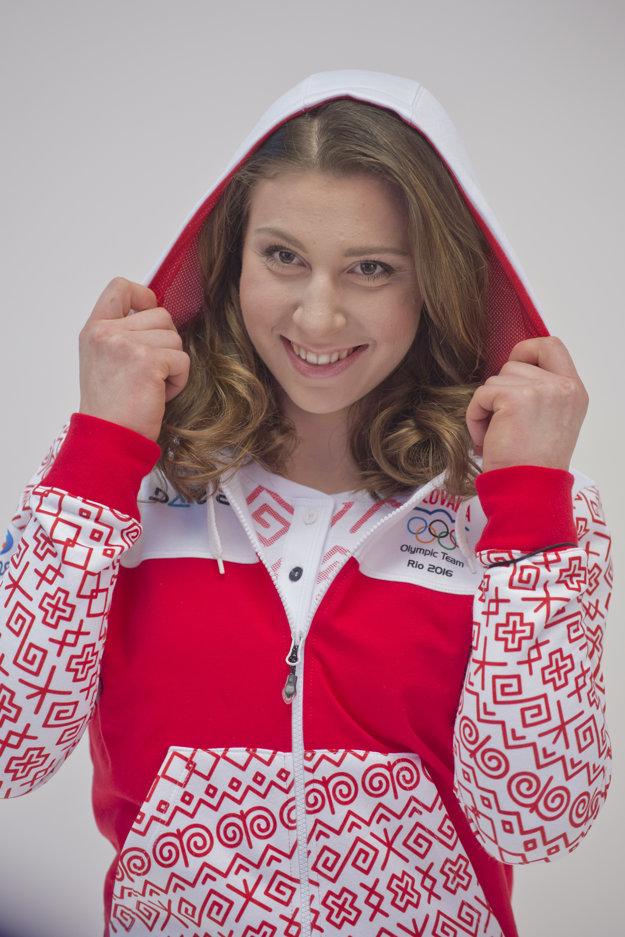 Športová gymnastka Barbora Mokošová.