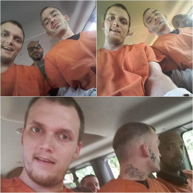 Väzňom sa podarilo na sociálnu sieť uverejniť niekoľko fotografií.