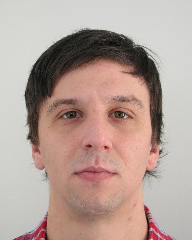 Nezvestný 32-ročný Miroslav Jurkovič z Handlovej.