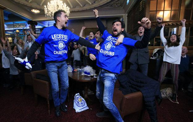 Po záverečnom hvizde na Stamford Bridge mohli vypuknúť v Leicesteri bujaré oslavy.