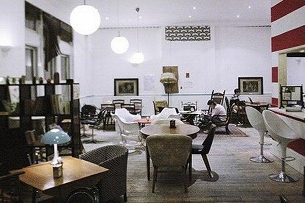 Prvá kaviareň v Londýne (388 Old Street), kde platíte za minúty.
