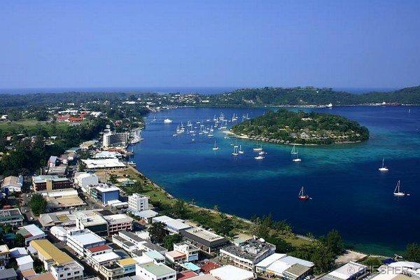 Hlavné mesto Port Vila.