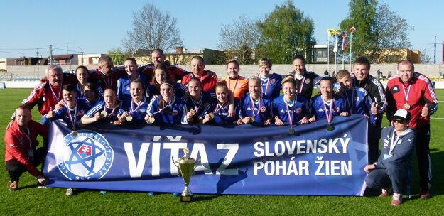 Partizán Bardejov - víťazky ženského Slovanft Cup-u.