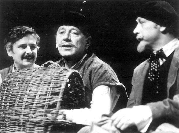 Pokus o lietanie (1980), Juraj Slezáček (Ilijko),Karol Machata (Kvákykváč), Leopold Haverl (Cyro)