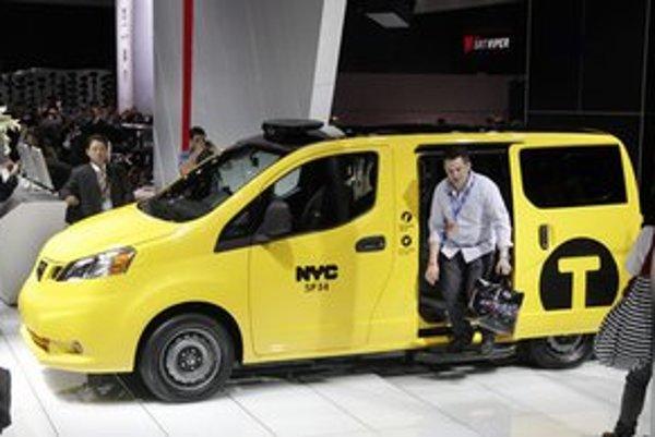 NV200 na automobilovej výstave v New Yorku.