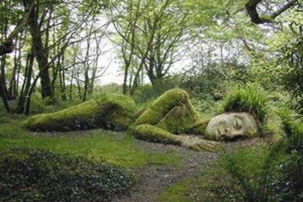 """Medzi najfotografovanejšie rarity Stratených záhrad patria """"rastlinné"""" sochy. Tie sa menia podľa ročného obdobia a pri vhodnom osvetlení môžete získať pocit, že ide o spiacu vílu či škriatka vynárajúceho sa zo zeme. Viac fotografií a informácií o Lost Gar"""