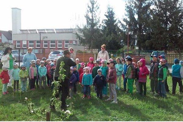 Škôlkari si užili deň plný zábavy.
