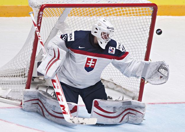Branislav Konrád pustil v zápase proti Maďarsku za svoj chrbát iba jeden gól.