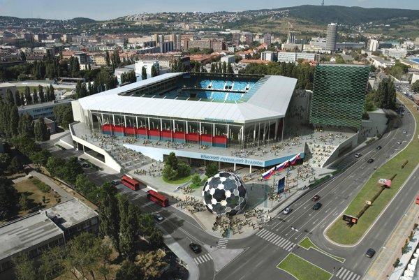 Projekt výstavby Národného futbalového štadióna sa ťahá už roky.