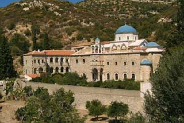 Ortodoxný kláštor.