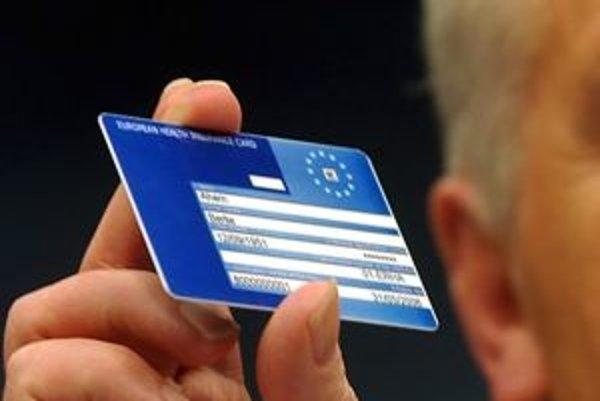 Európsky preukaz zdravotného poistenia.