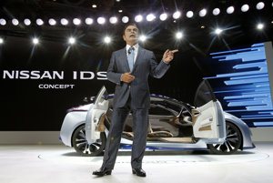 Šéf Nissan Motor Co. Carlos Ghosn
