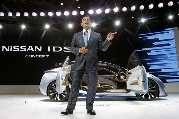 Šéf Nissan Motor Co. Carlos Ghosn