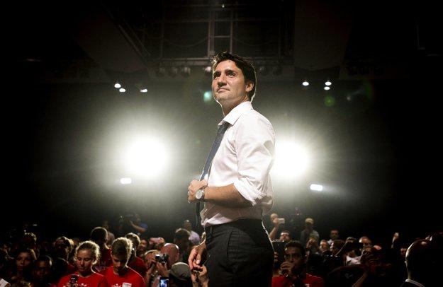 Justin Trudeau má dnes 44 rokov.