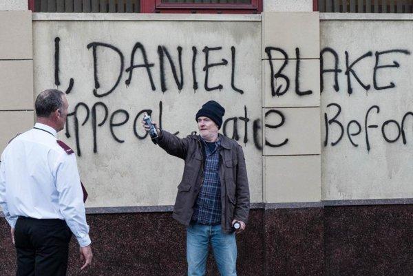 Dave Johns ako hlavný hrdina filmu Ja, Daniel Blake.