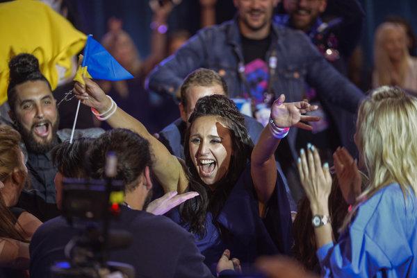 Víťazka Eurovízie, ukrajinská speváčka Jamala.