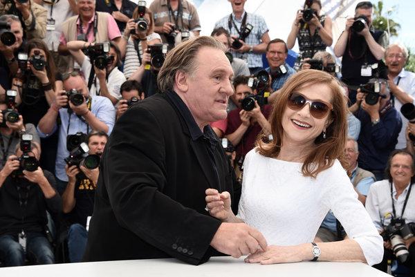 V Cannes pred dvomi rokmi. Gérard Depardieu s Isabelle Huppertovou.