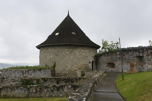 Objekt hladomorne, novej stálej expozície Trenčianskeho hradu, ktorú sprístupnili verejnosti.