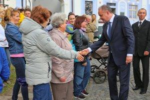 Prezident pred návštevou Mincovne takto pozdravil Kremničanov.