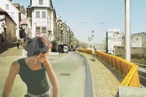 Na Židovskej ulici by mohla byť aj drevená lávka
