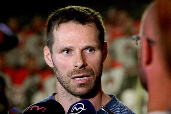 Štrajkujúcich učiteľov podporil aj Michal Handzuš.