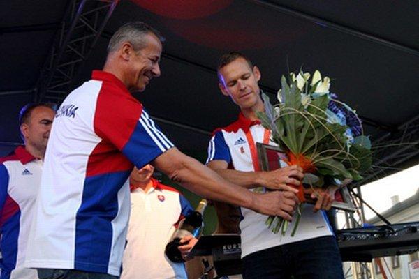 Gratulácia  od prvého muža mesta Jána Noska.