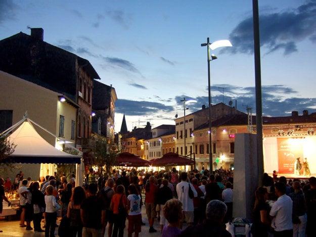 Hlavné námestie v meste Poreč
