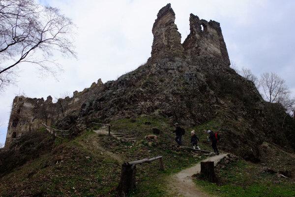 K pozemkom patria plochy v predpolí hradu aj časť hradného brala.