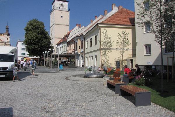 Trojičné námestie v Trnave.