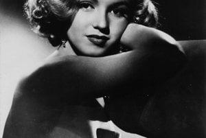 Mladá Marilyn.