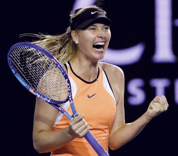 Rusku Mariu Šarapovovú predbežne suspendovali 8. marca.