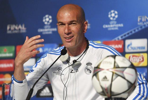 Zidane tvrdí, že šance sú pol na pol.