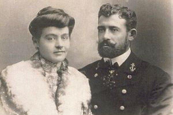 Kornélia Thurzová a Július Juraj Thurzo.