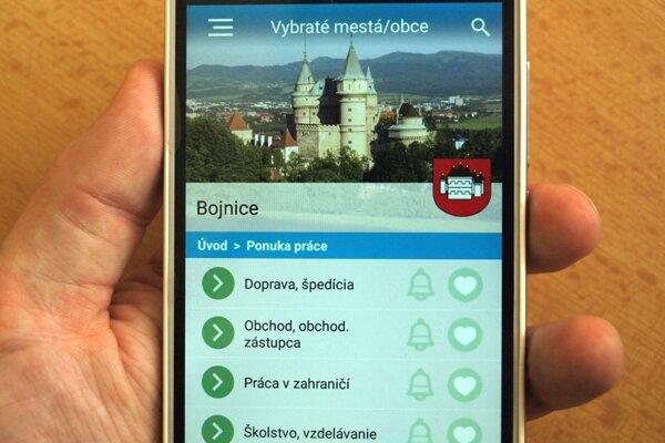 """Aplikácia s názvom """"Virtualne"""" je dostupná pre operačné systémy iOS a Android."""