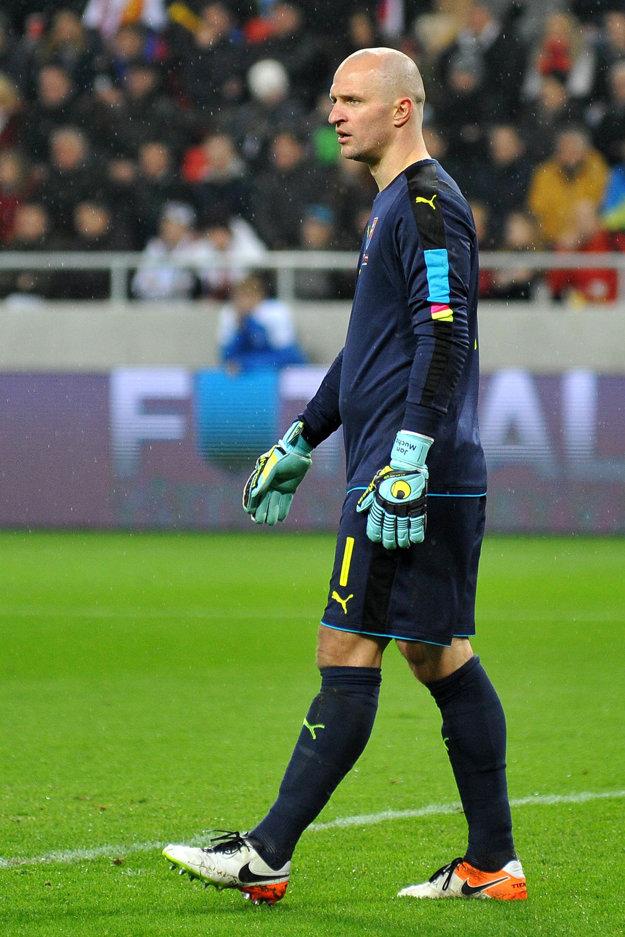 Ján Mucha patrí medzi najskúsenejších hráčov v reprezentácii.