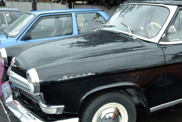 Auto vystavené na Zraze veteránov vo Vidinej.
