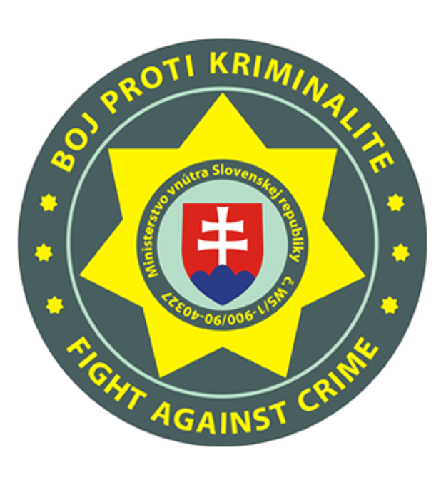 Znak OZ Boj proti kriminalite pripomína znak Policajného zboru.