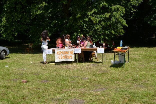 Na akcii malo zastúpenie aj komunitné centrum.