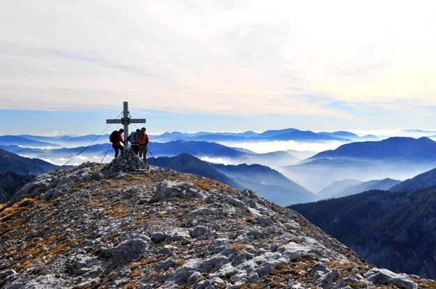 Vysokohorské výlety v Alpách ponúkajú množstvo výhľadov.