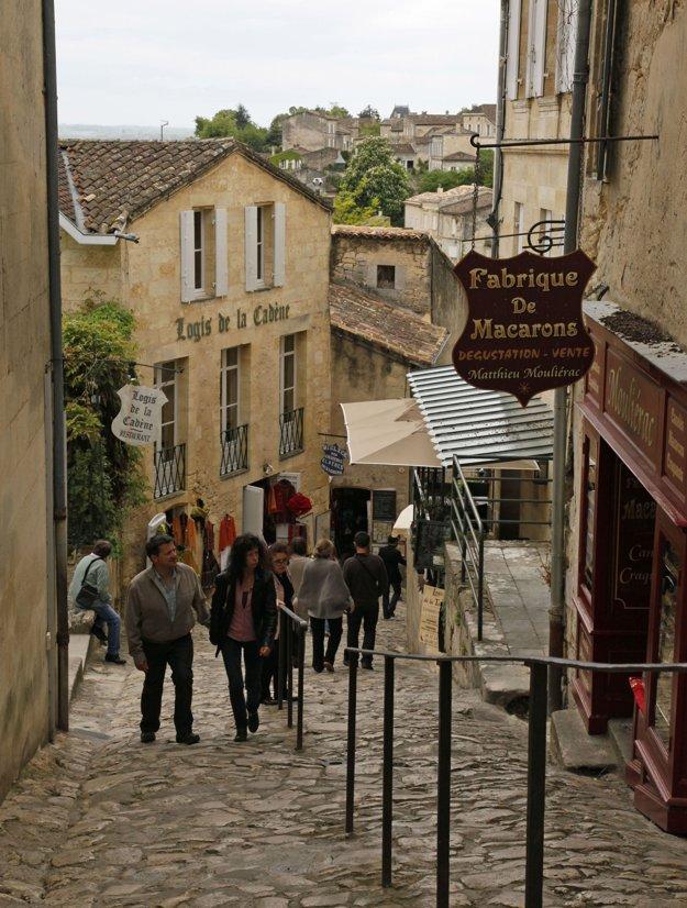 Romantické uličky v meste.