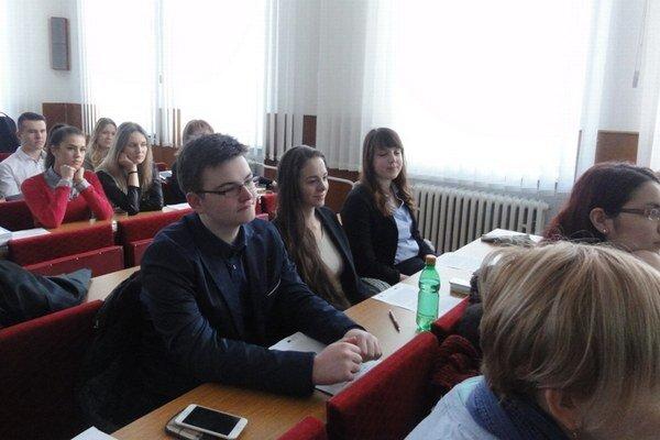 Študentská konferencia.
