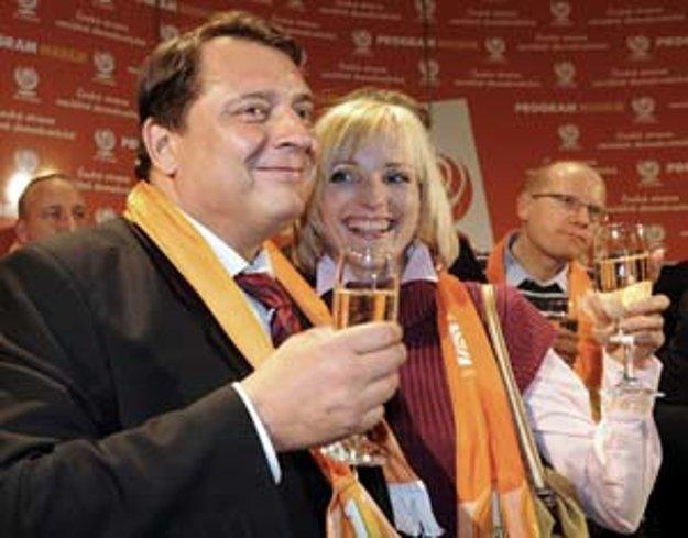 Oranžové tsunami z roku 2008 bolo najväčším volebným víťazstvom Jiřího Paroubka.