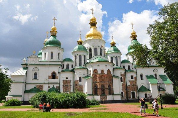 Chrám sv. Sofie je jednou z množstva historických pamiatok, ktoré Levičania videli v Kyjeve.