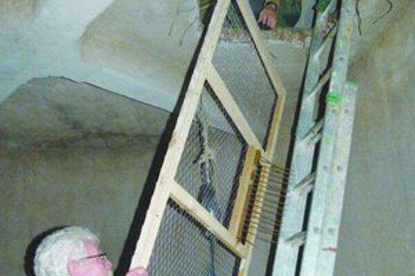 Odchytové klietky inštalovali vo výškových budovách.