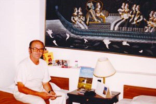 Tlmačan Jaroslav Burjaniv strávil v Indii niekoľko rokov.