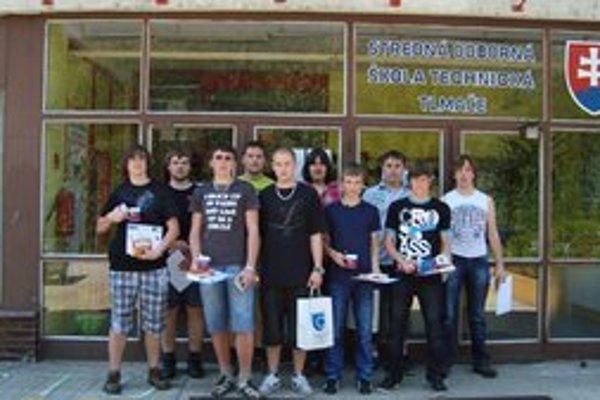 Tlmačskí študenti hostili rovesníkov zo Strednej odbornej školy technickej zo Žďáru nad Sázavou.