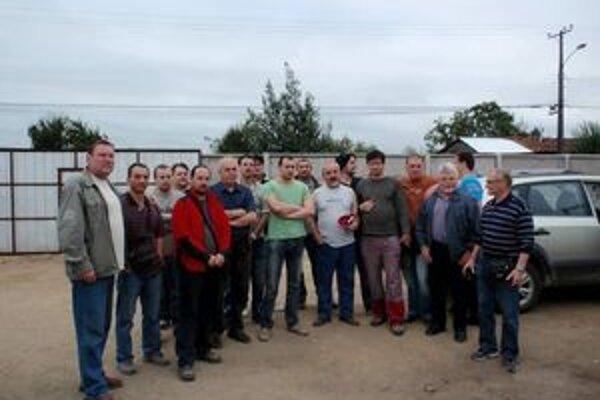 Pracovníci závodu SES pracovali v čilskom meste Concepción na stavbe tepelnej elektrárne.