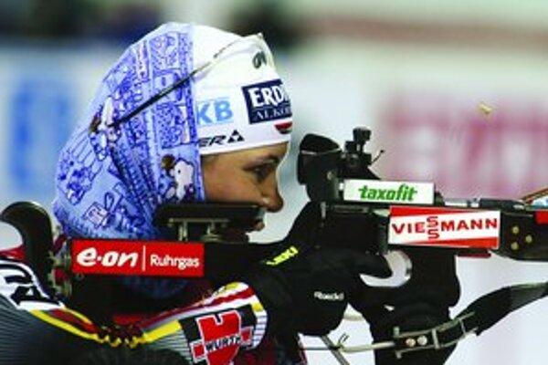 Nemecká biatlonistka Kathrin Hitzerová zažila životný víkend: dve víťazstvá deň za dňom.